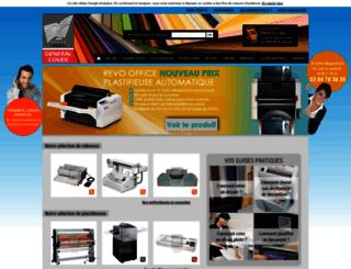 general-cover.com screenshot