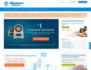general.wawanesa.com screenshot