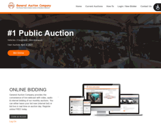 generalauction.com screenshot