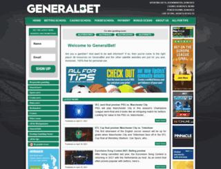 generalbet.com screenshot