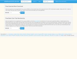 generalbooksclub.com screenshot