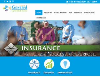 generalcapital.co.in screenshot