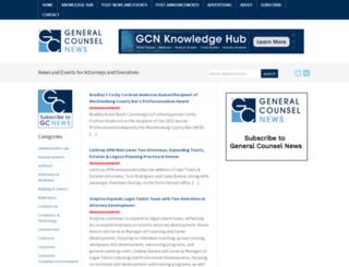 generalcounselnews.com screenshot