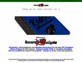 generalguitargadgets.com screenshot
