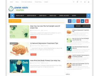 generalhealthsolution.com screenshot