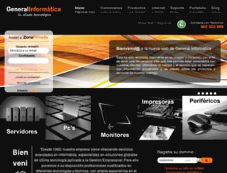 generalinformatica.com screenshot