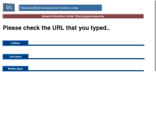 generalinformationcenter.com screenshot