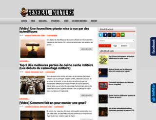 generalkulture.blogspot.com screenshot