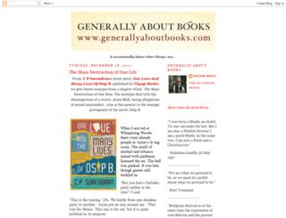 generallyaboutbooks.com screenshot