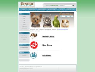 generalpet.com screenshot