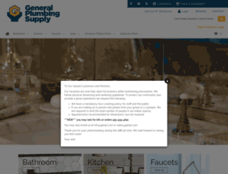 generalplumbingsupply.com screenshot