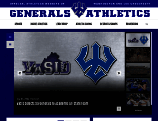generalssports.com screenshot
