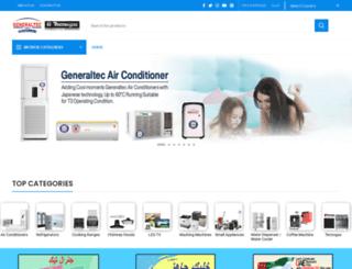 generaltec.net screenshot