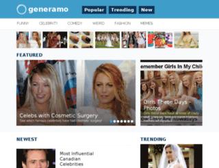 generamo.com screenshot