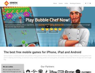 generamobile.com screenshot