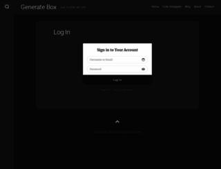 generatebox.com screenshot