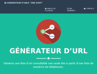generateur.push-sms-services.com screenshot