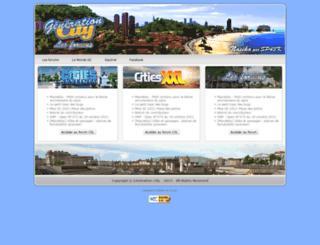 generation-city.com screenshot