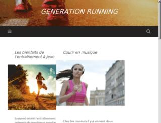 generation-running.fr screenshot