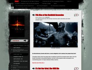 generationantichrist.wordpress.com screenshot