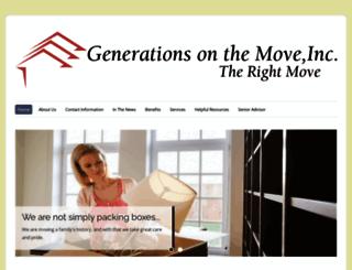 generationsonthemove.com screenshot