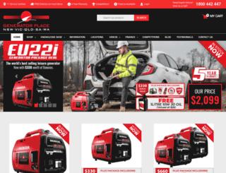 generatorplace.com.au screenshot