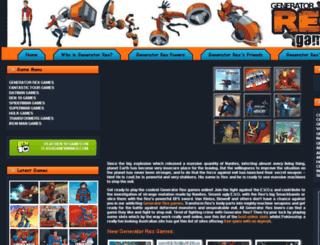 generatorrexgames.com screenshot
