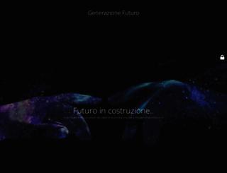 generazionefuturo.it screenshot