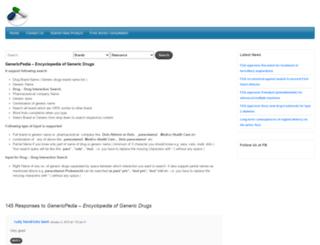 genericpedia.com screenshot