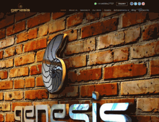 genesisads.com screenshot