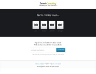 genesisconsulting.ie screenshot