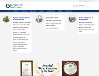 genesisenviroman.com screenshot