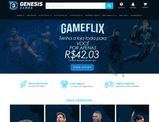 genesisgames.com.br screenshot