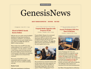 genesisnews.wordpress.com screenshot
