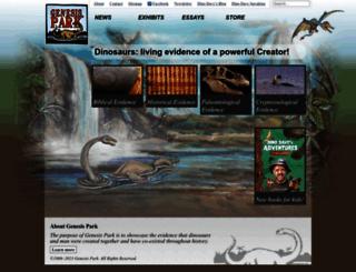 genesispark.com screenshot