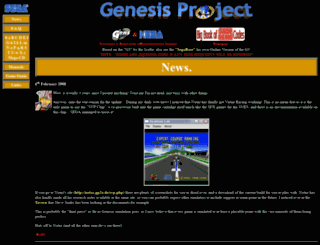 genesisproject-online.com screenshot