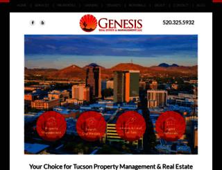 genesisrealty.com screenshot