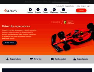 genesyslab.com screenshot