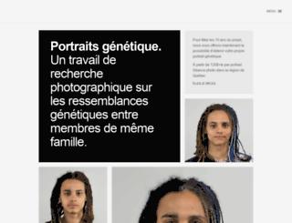 genetic.ulriccollette.com screenshot