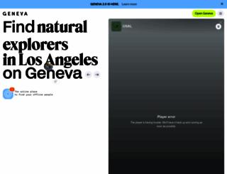 geneva.com screenshot