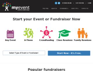 geneva.myevent.com screenshot