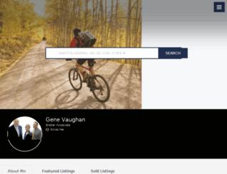 genevaughan.com screenshot