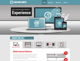 genexies.com screenshot