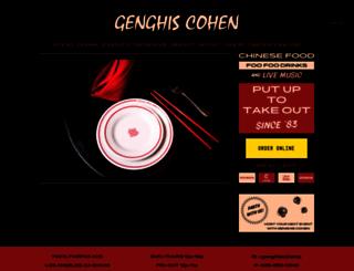 genghiscohen.com screenshot