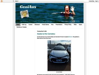 geniaus.blogspot.com screenshot