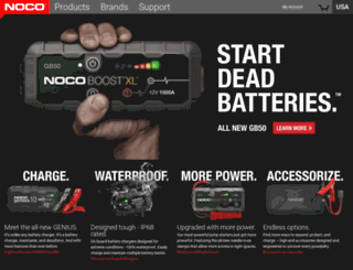 geniuschargers.com screenshot