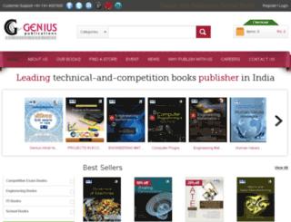 geniuspublications.com screenshot