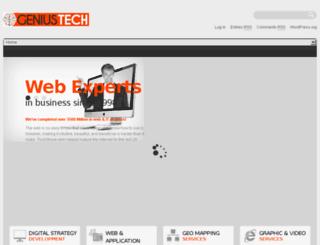 geniustechs.com screenshot