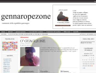 gennaropezone.com screenshot