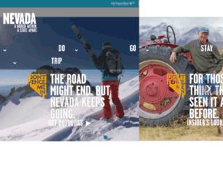 genoa.travelnevada.com screenshot
